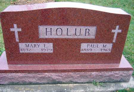 HOLUB, PAUL M. - Linn County, Iowa | PAUL M. HOLUB