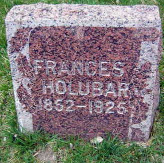 HOLUBAR, FRANCES - Linn County, Iowa | FRANCES HOLUBAR