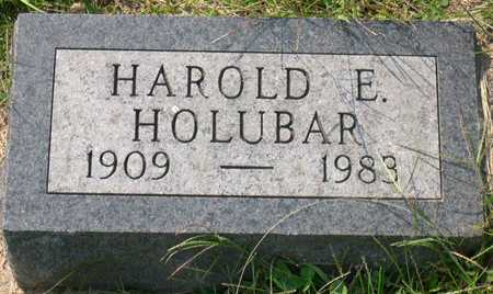 HOLUBAR, HAROLD E. - Linn County, Iowa | HAROLD E. HOLUBAR