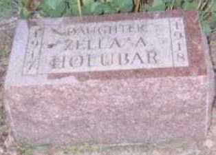 HOLUBAR, ZELLA A, - Linn County, Iowa | ZELLA A, HOLUBAR