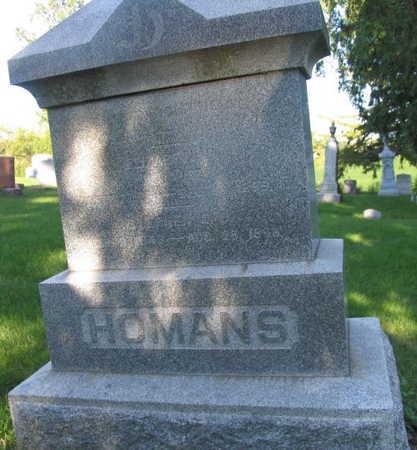 HOMANS, STEPHEN - Linn County, Iowa   STEPHEN HOMANS