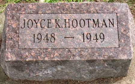 HOOTMAN, JOYCE K. - Linn County, Iowa   JOYCE K. HOOTMAN