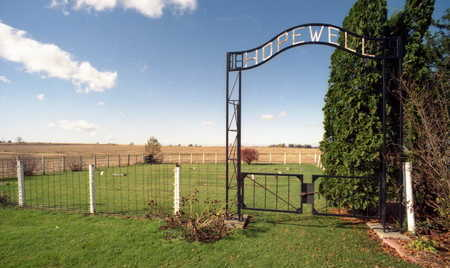 HOPEWELL A.K.A. QUAKER, CEMETERY - Linn County, Iowa | CEMETERY HOPEWELL A.K.A. QUAKER