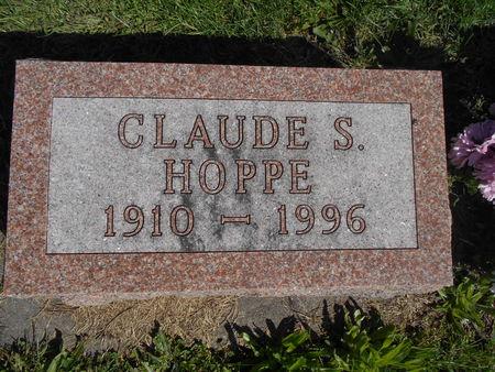 HOPPE, CLAUDE STANSBURY - Linn County, Iowa | CLAUDE STANSBURY HOPPE