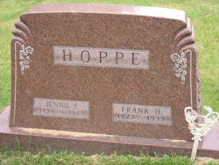 HOPPE, JENNIE E. - Linn County, Iowa | JENNIE E. HOPPE
