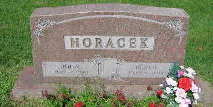 HORACEK, BESSIE - Linn County, Iowa | BESSIE HORACEK