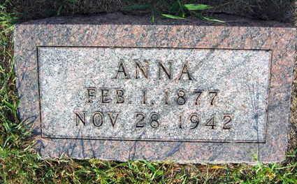 HORAK, ANNA - Linn County, Iowa | ANNA HORAK