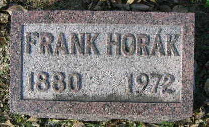 HORAK, FRANK - Linn County, Iowa | FRANK HORAK