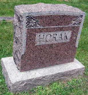 HORAK, FAMILY STONE - Linn County, Iowa   FAMILY STONE HORAK