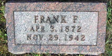 HORAK, FRANK F. - Linn County, Iowa | FRANK F. HORAK