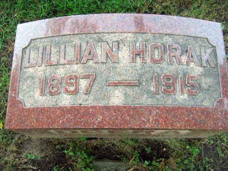 HORAK, LILLIAN - Linn County, Iowa | LILLIAN HORAK