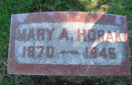 RYPKA HORAK, MARY A. - Linn County, Iowa | MARY A. RYPKA HORAK