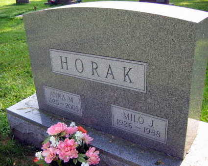 HORAK, MILO J. - Linn County, Iowa | MILO J. HORAK