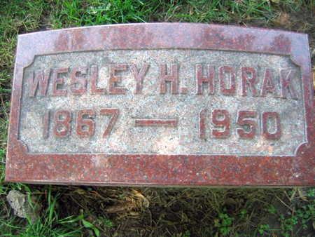 HORAK, WESLEY H. - Linn County, Iowa | WESLEY H. HORAK