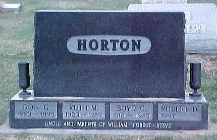 HORTON, BOYD C. - Linn County, Iowa | BOYD C. HORTON