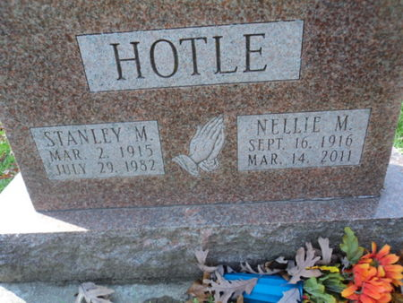 HICKS HOTLE, NELLIE M. - Linn County, Iowa | NELLIE M. HICKS HOTLE