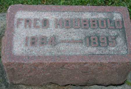 HOUBBOLD, FRED - Linn County, Iowa | FRED HOUBBOLD