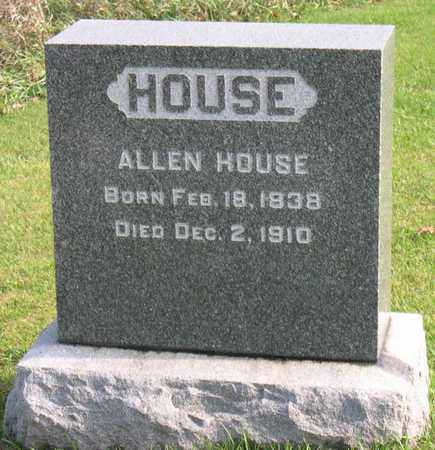HOUSE, ALLEN - Linn County, Iowa | ALLEN HOUSE