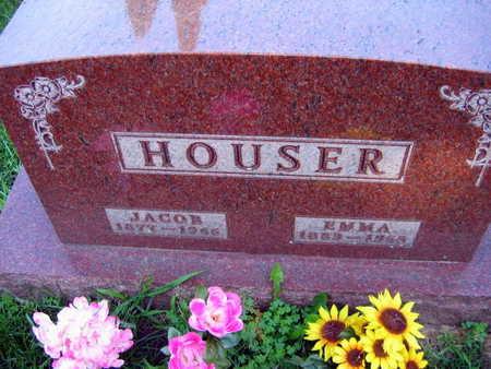 HOUSER, EMMA - Linn County, Iowa | EMMA HOUSER