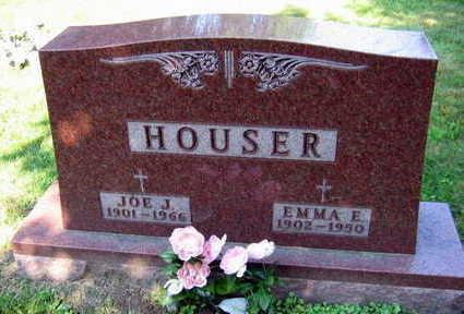 HOUSER, EMMA E. - Linn County, Iowa | EMMA E. HOUSER