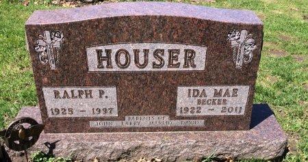 BECKER HOUSER, IDA MAE - Linn County, Iowa | IDA MAE BECKER HOUSER