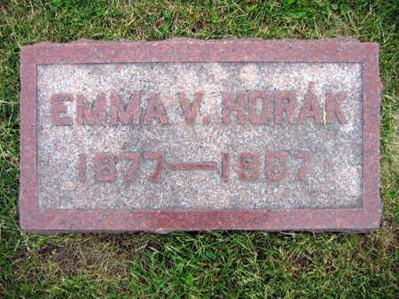 HORAK, EMMA V. - Linn County, Iowa | EMMA V. HORAK