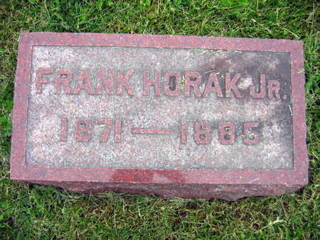 HORAK, FRANK JR. - Linn County, Iowa | FRANK JR. HORAK