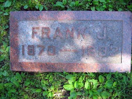 HORAK, FRANK J. - Linn County, Iowa | FRANK J. HORAK