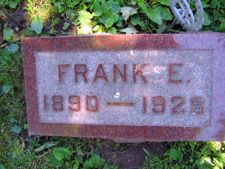 HORAK, FRANK E. - Linn County, Iowa | FRANK E. HORAK