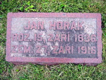 HORAK, JAN - Linn County, Iowa | JAN HORAK