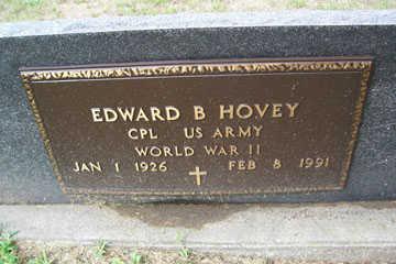 HOVEY, EDWARD B. - Linn County, Iowa   EDWARD B. HOVEY