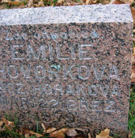 HOVORKOVA, EMILIE - Linn County, Iowa | EMILIE HOVORKOVA