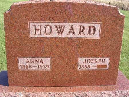 HOWARD, ANNA - Linn County, Iowa | ANNA HOWARD