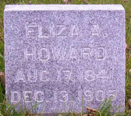 HOWARD, ELIZA A. - Linn County, Iowa | ELIZA A. HOWARD
