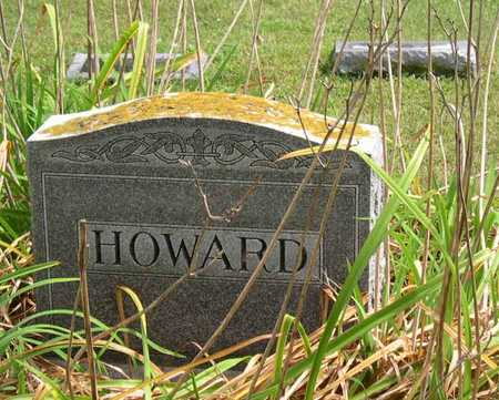 HOWARD, FAMILY STONE - Linn County, Iowa | FAMILY STONE HOWARD