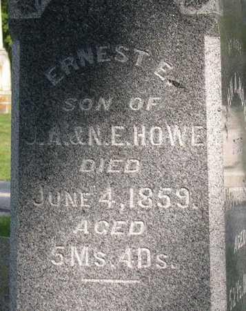 HOWE, ERNEST E. - Linn County, Iowa | ERNEST E. HOWE