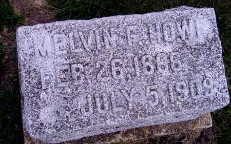 HOWE, MELVIN F. - Linn County, Iowa | MELVIN F. HOWE