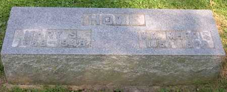 HOWE, MARY S. - Linn County, Iowa | MARY S. HOWE