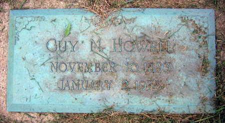 HOWELL, GUY N. - Linn County, Iowa   GUY N. HOWELL