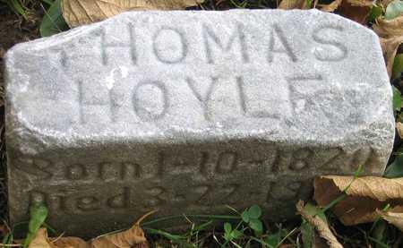 HOYLE, THOMAS - Linn County, Iowa | THOMAS HOYLE