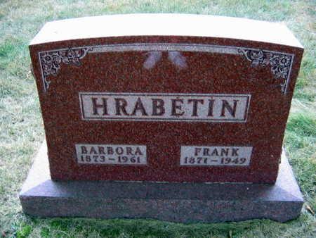 HRABETIN, BARBORA - Linn County, Iowa | BARBORA HRABETIN