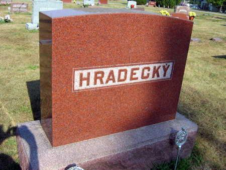 HRADECKY, FAMILY STONE - Linn County, Iowa | FAMILY STONE HRADECKY