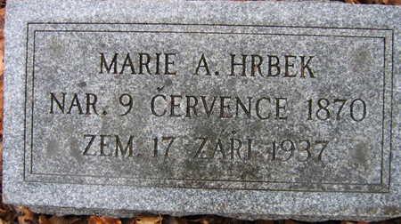 HRBEK, MARIE A - Linn County, Iowa | MARIE A HRBEK