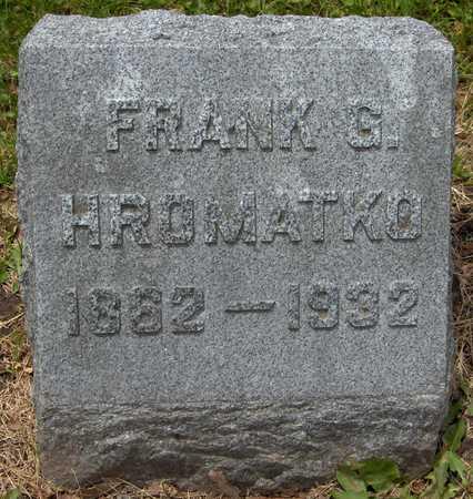 HROMATKO, FRANK G. - Linn County, Iowa | FRANK G. HROMATKO