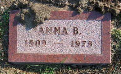 HRONEK, ANNA B - Linn County, Iowa | ANNA B HRONEK