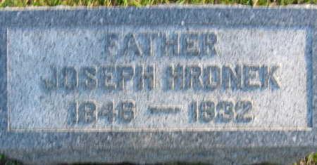 HRONEK, JOSEPH - Linn County, Iowa   JOSEPH HRONEK
