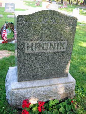 HRONIK, FAMILY STONE - Linn County, Iowa | FAMILY STONE HRONIK