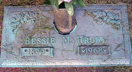 HRUBY, BESSIE - Linn County, Iowa | BESSIE HRUBY