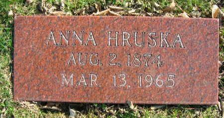HRUSKA, ANNA - Linn County, Iowa   ANNA HRUSKA