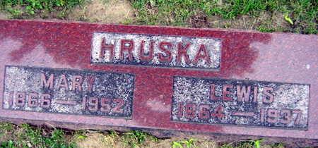 HRUSKA, LEWIS - Linn County, Iowa | LEWIS HRUSKA